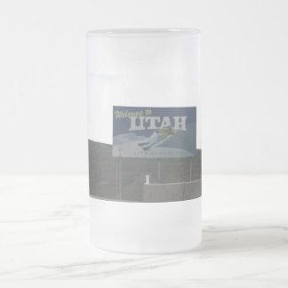Willkommen zur Utah-Kuchen-mattierten Tasse