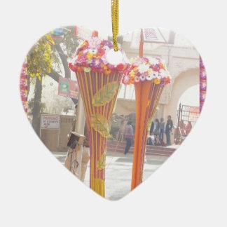 Willkommene Tore Neu-Delhi 2016 Indien-Reisen Keramik Ornament