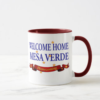Willkommenes MESA Verde des Zuhause-USS! Tasse