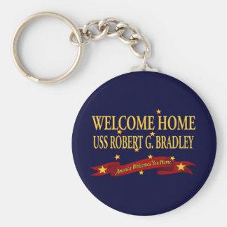 Willkommenes Zuhause USS Robert G. Bradley Schlüsselanhänger
