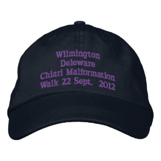 Wilmington Deleware 2012 Bestickte Kappe