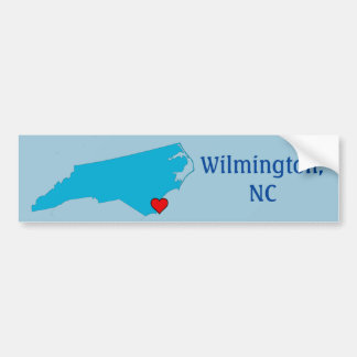 Wilmington, NC Autoaufkleber