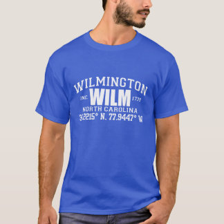 WILMINGTON-NORTH CAROLINA-STADT INC. KOORDINIERT T-Shirt