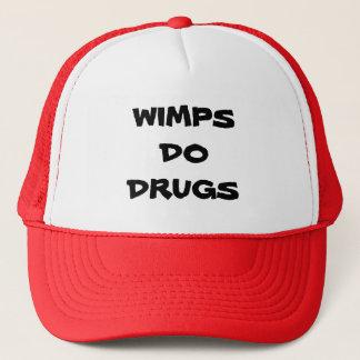 WIMPS TUN DROGEN-HUT TRUCKERKAPPE