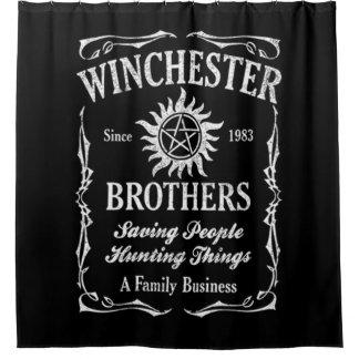 Winchester Bros seit 1983 Duschvorhang