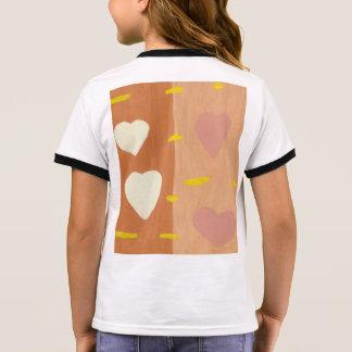 Wind der Wecker-des T - Shirt des Liebe-Mädchens