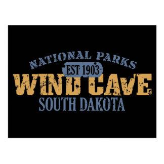 Wind-Höhlen-Nationalpark Postkarte
