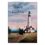 Wind-Punkt-Licht-Geburtstags-Karte