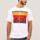 Wind-Turbine-Vintage Art T-Shirt