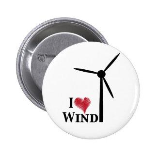 Windenergie der Liebe I Anstecknadelbuttons