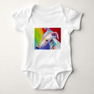 Windhund #2 baby strampler