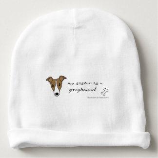 Windhund Babymütze