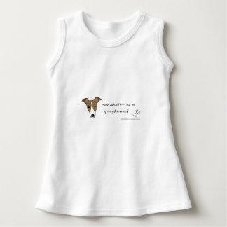 Windhund Kleid