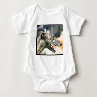 Windhundbaby-Shirt Baby Strampler