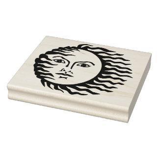 Windige Sungummikunst-Briefmarke Gummistempel