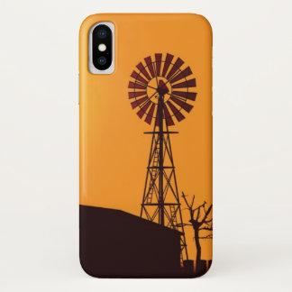 Windkraftanlage iPhone X Hülle