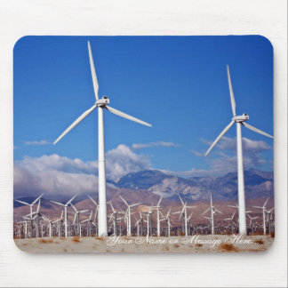 Windkraftanlagen Mousepad