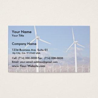 Windkraftanlagen Visitenkarte