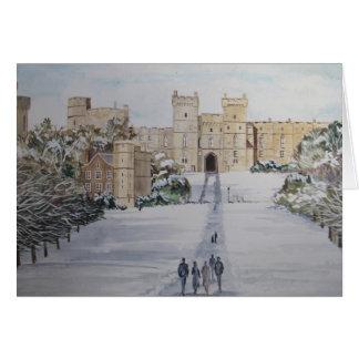 Windsor die Grüße der Jahreszeit Schloss Karte