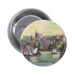 Windsor Schloss über der Themse Buttons