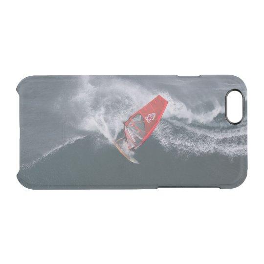 Windsurfing in Hawaii Durchsichtige iPhone 6/6S Hülle
