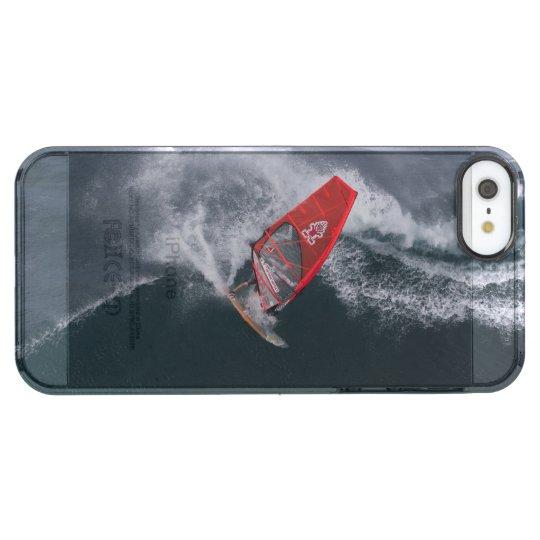 Windsurfing in Hawaii Durchsichtige iPhone SE/5/5s Hülle