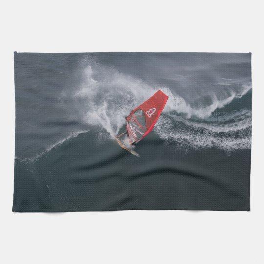 Windsurfing in Hawaii Handtuch