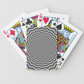 Windungs-Schnitt-Kreis-Spielkarten Bicycle Spielkarten