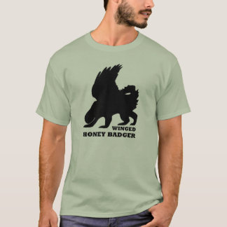 Winged Honig Bager T-Shirt