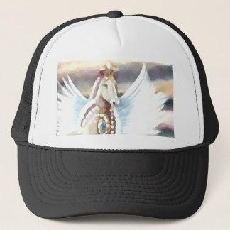 Winged Kunst u. Entwurf Pegasus CricketDiane Truckerkappe