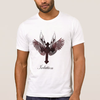 Winged Querisolierung T-Shirt