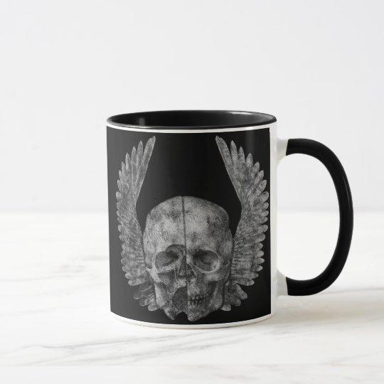 Winged Schädel Tasse