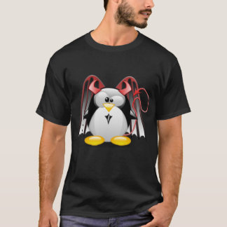 Winged Teufel Tux T-Shirt