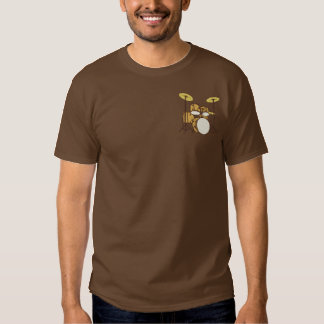 Winged Trommel-Set Besticktes T-Shirt