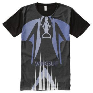 WINGSUIT WS_001 Ponto Zentrale T-Shirt Mit Komplett Bedruckbarer Vorderseite