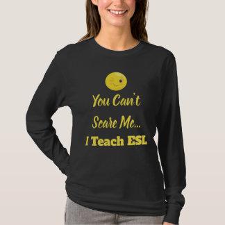 Wink Emoji ESL erschrecken Lehrer T-Shirt