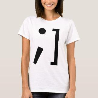 Wink @ ich T-Stück T-Shirt