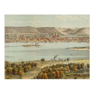 Winona, Minnesota Postkarte