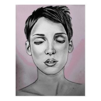 Winona Ryder Postkarte