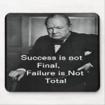 Winston Churchill - Mousepad - succès Tapis De Souris