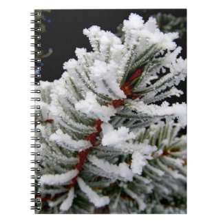 Winter-Baum-Notizbuch Spiral Notizblock