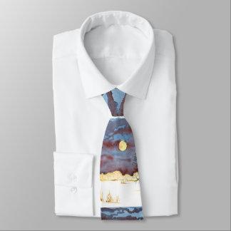 Winter-Feld Personalisierte Krawatte
