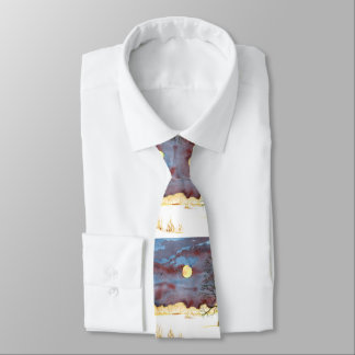 Winter-Feld Personalisierte Krawatten