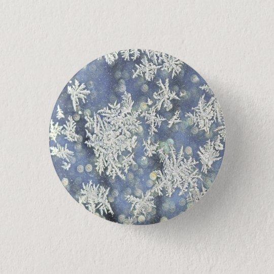 Winter-Frost-Sonderkommando-Fotografie Runder Button 2,5 Cm