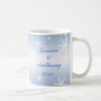 Winter-Hochzeit Tasse