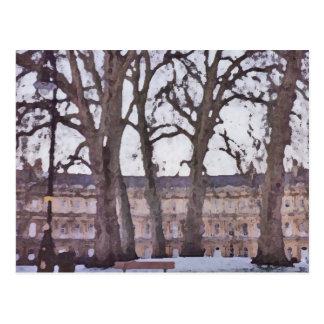 Winter im Bad Postkarte