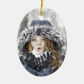Winter Keramik Ornament