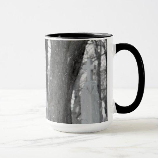 Winter-Kunst Tasse
