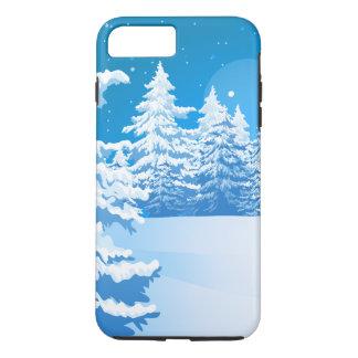 Winter-Landschaft iPhone 8 Plus/7 Plus Hülle