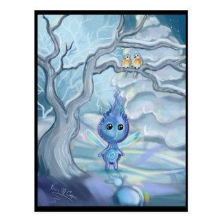Winter-Magie Postkarte
